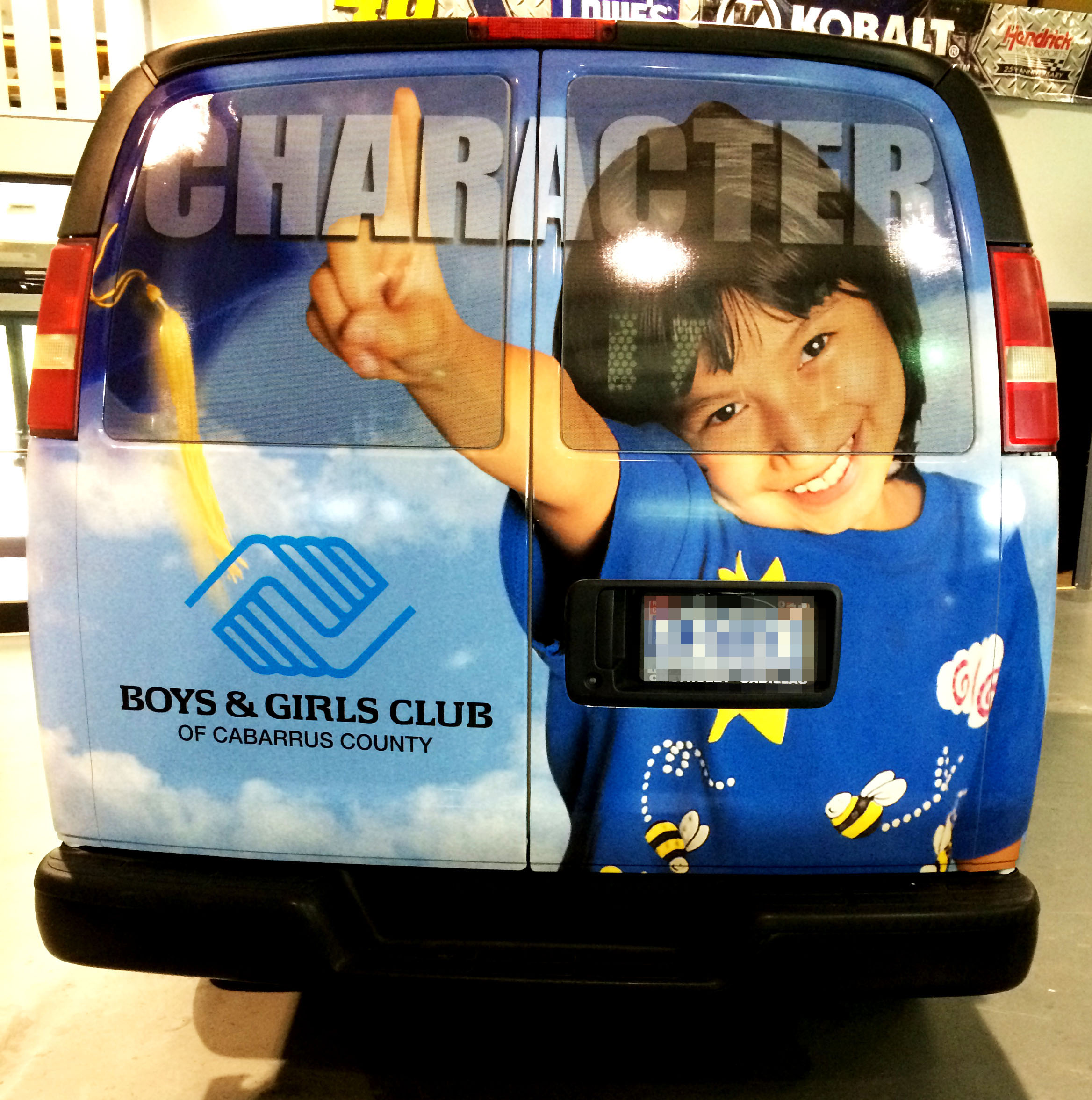 Boys and Girls Club van